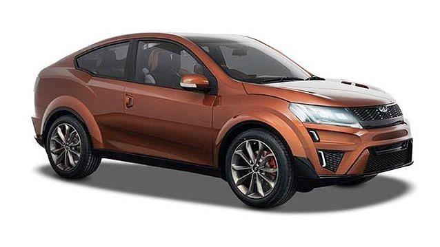 Mahindra XUV900 SUV Coupe Concept Car