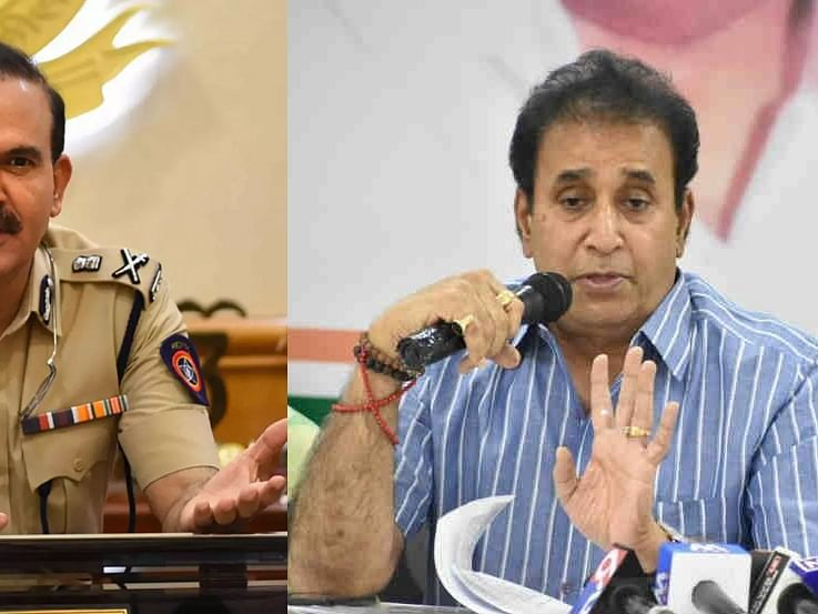 'மகாராஷ்டிரா: 100 கோடி மாமூல் விவகாரம்! -  மாஜி அமைச்சர் அனில் தேஷ்முக் மீது அமலாக்கத்துறை வழக்கு'