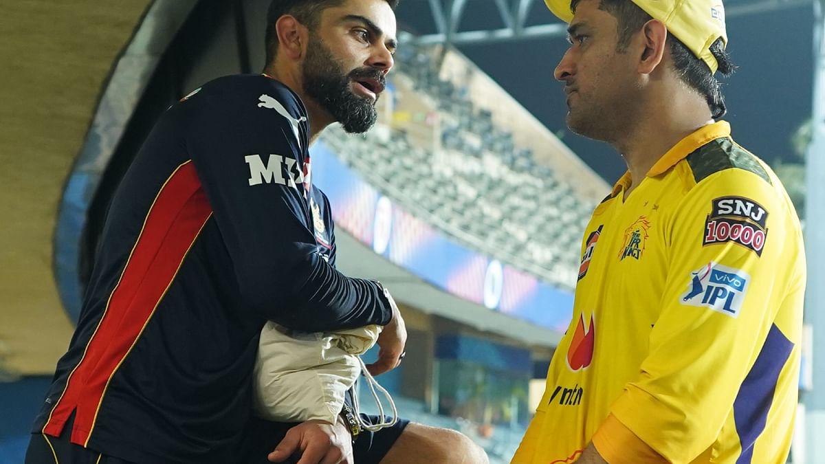 IPL 2021 - தோனி - கோலி