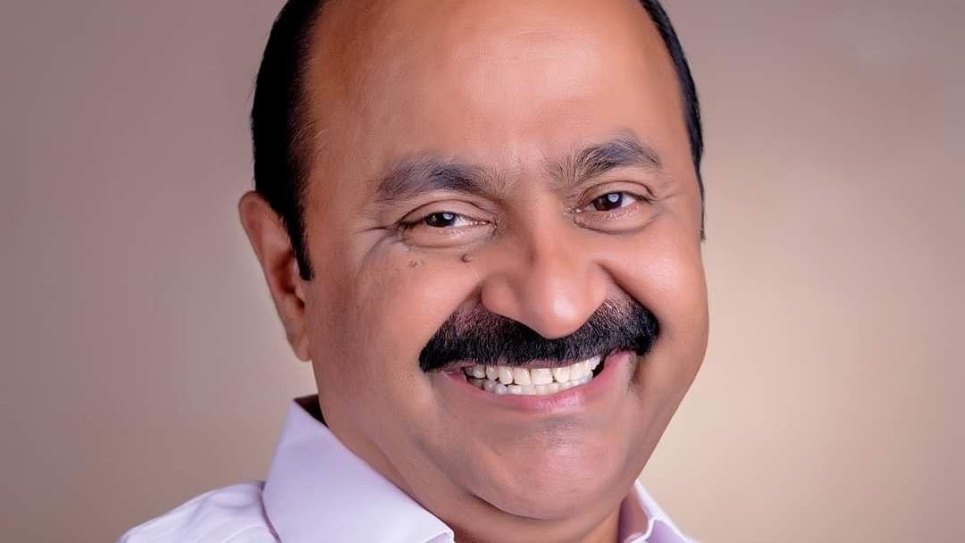 கேரள காங்கிரஸ் எதிர்கட்சித் தலைவர் வீ.டி.சதீசன்