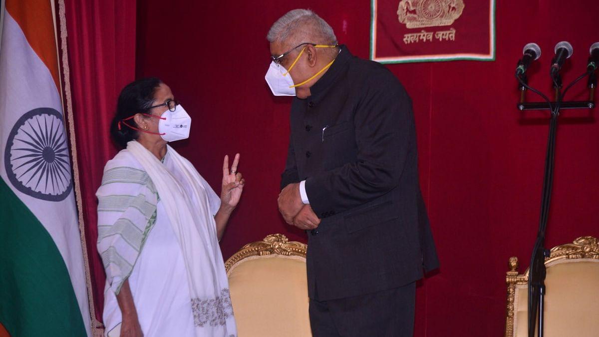 மம்தா பானர்ஜி - ஜகதீப் தன்கர்