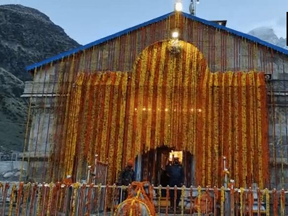 கேதார்நாத்: ஆறு மாதங்களுக்குப் பின் திறக்கப்பட்ட கோயில்... பக்தர்களுக்கு அனுமதியில்லை!