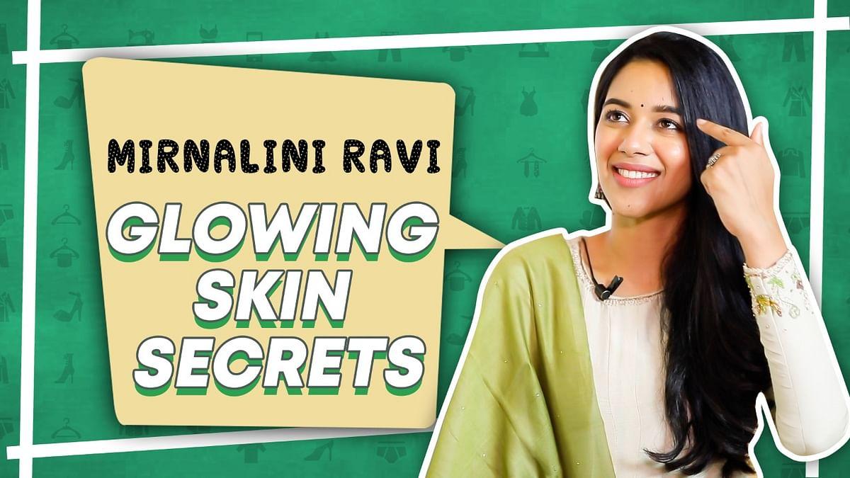 mirnalini skin routine