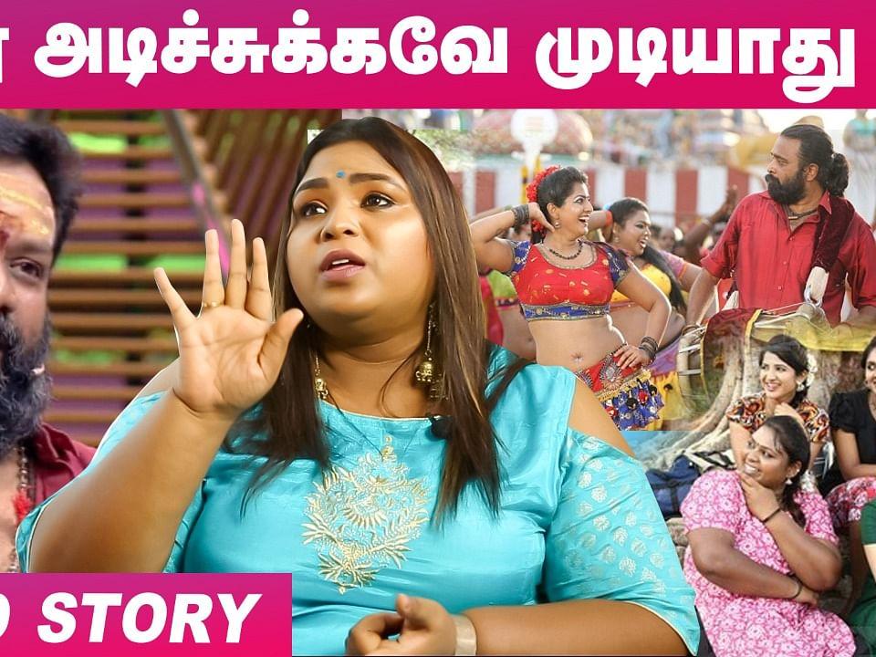 `இந்த Dress ஏன் போட்ட... அவ்ளோ கேள்வி கேட்டாங்க!' | Tharai Thappattai Fame Akshaya Kimmy Interview