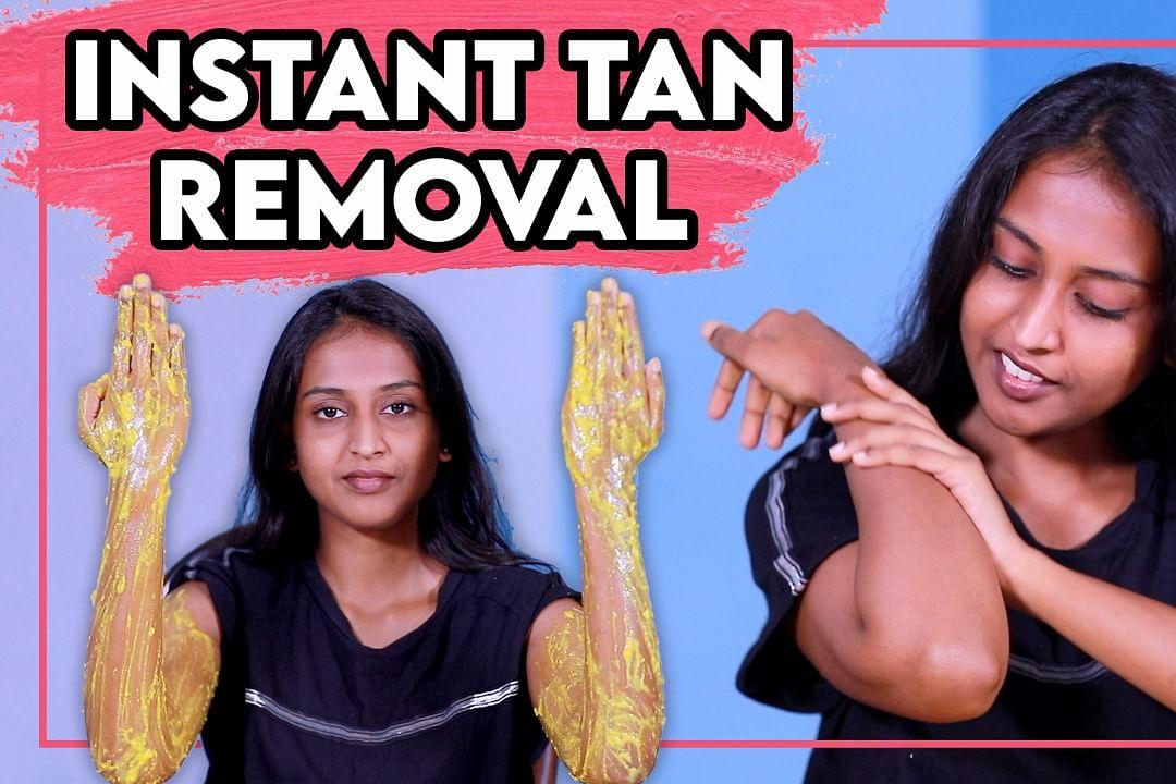 tan removal