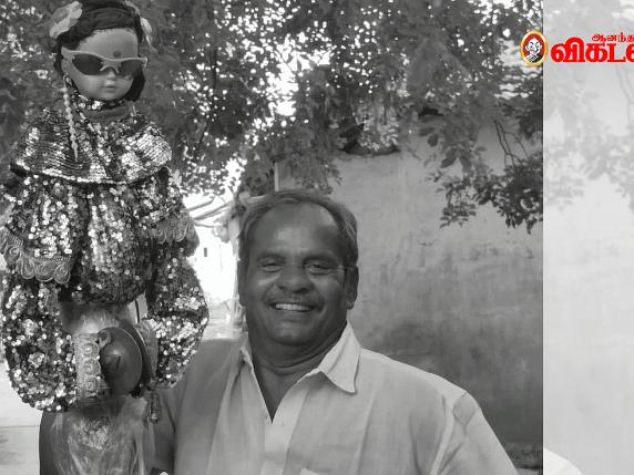 """மதுர மக்கள்: """"ஜவ்வு மிட்டாயாலதான் வீடு கட்டினேன்... புள்ளைகளைப் படிக்கவெச்சேன்!""""- மாயாண்டி தாத்தா"""