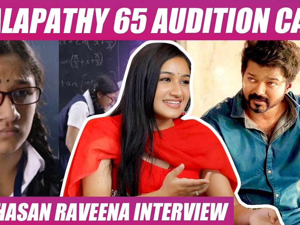 "``Actor Vijay Son Sanjay-க்கு ஜோடியா நடிக்கணும்!"" - Actress Raveena Daha   Mounaragam"