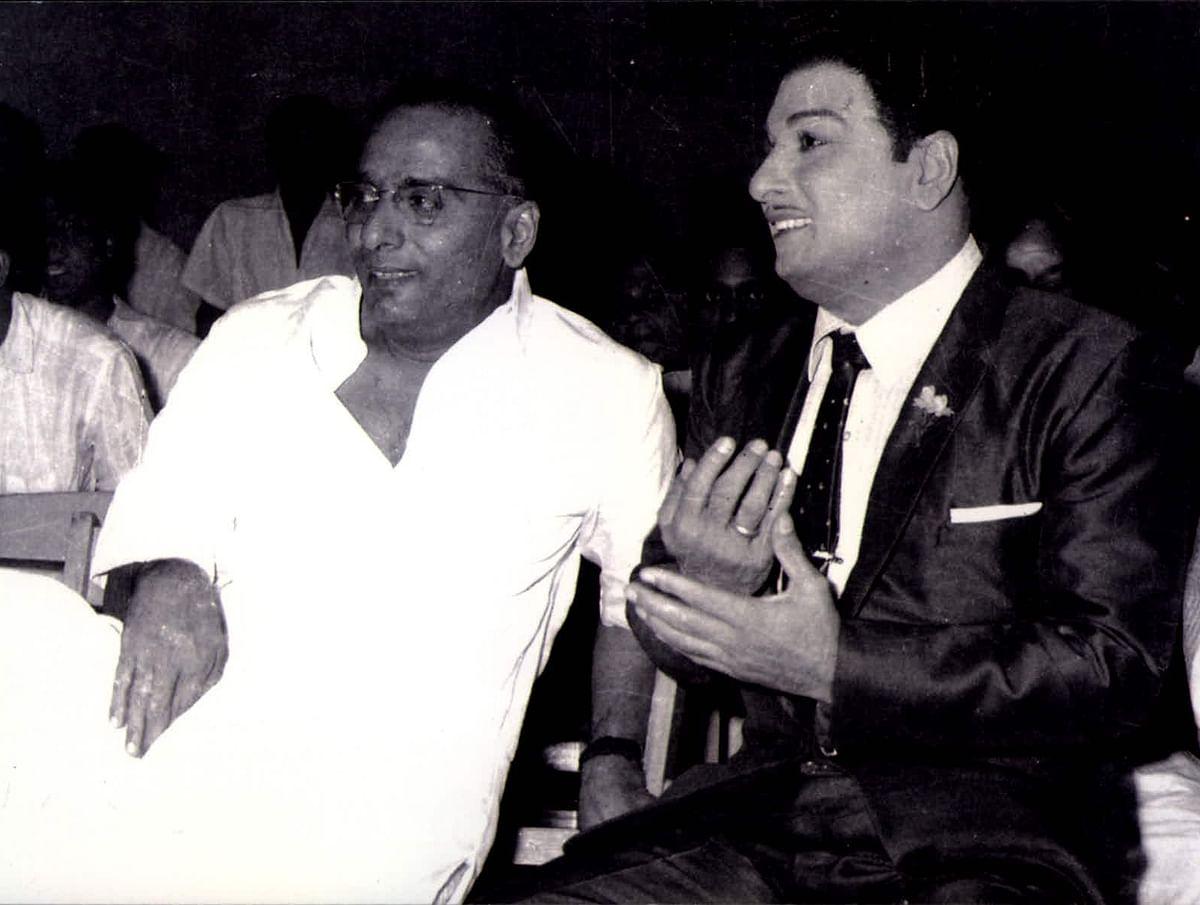 நாகி ரெட்டியுடன் எம்ஜிஆர்