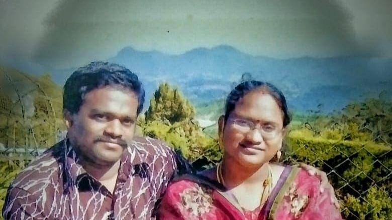 சரவணன்- ஸ்ரீநிதி
