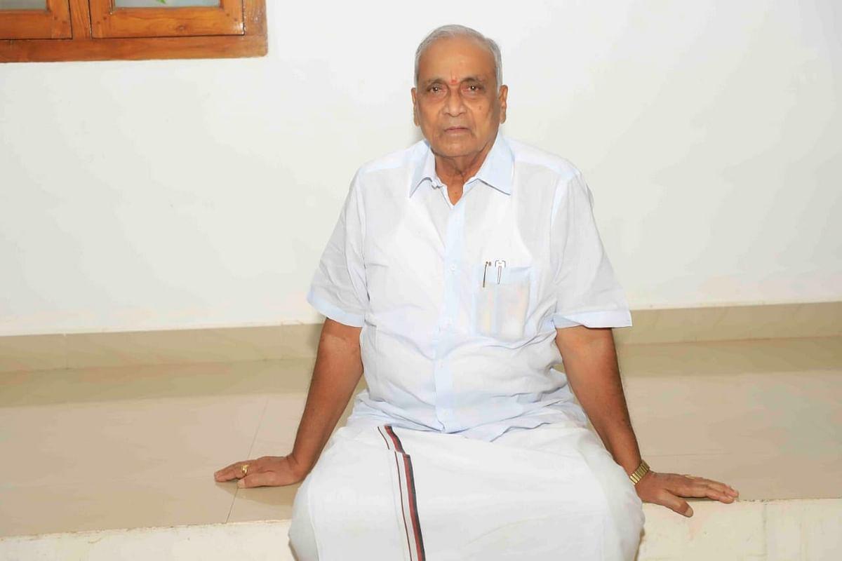தி.மு.க வேட்பாளர் ராமச்சந்திரன்