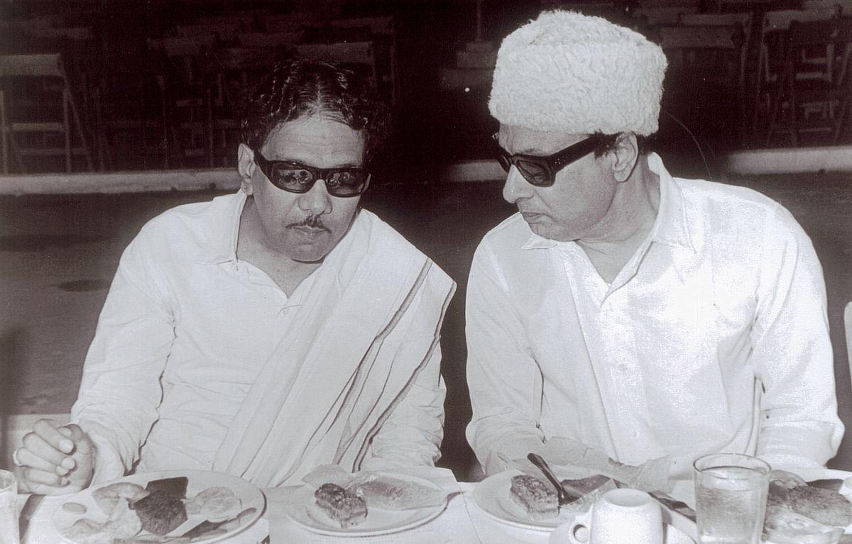 கருணாநிதி, எம்ஜிஆர்