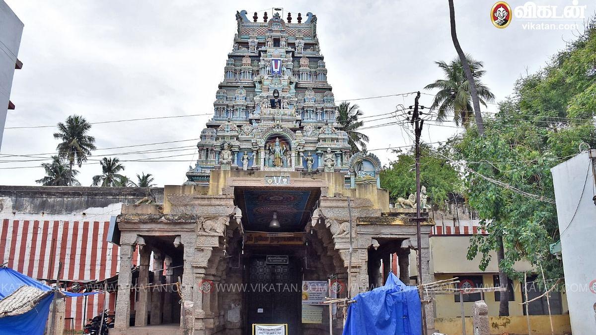 திருமோகூர் காளமேகப் பெருமாள் திருக்கோயில்