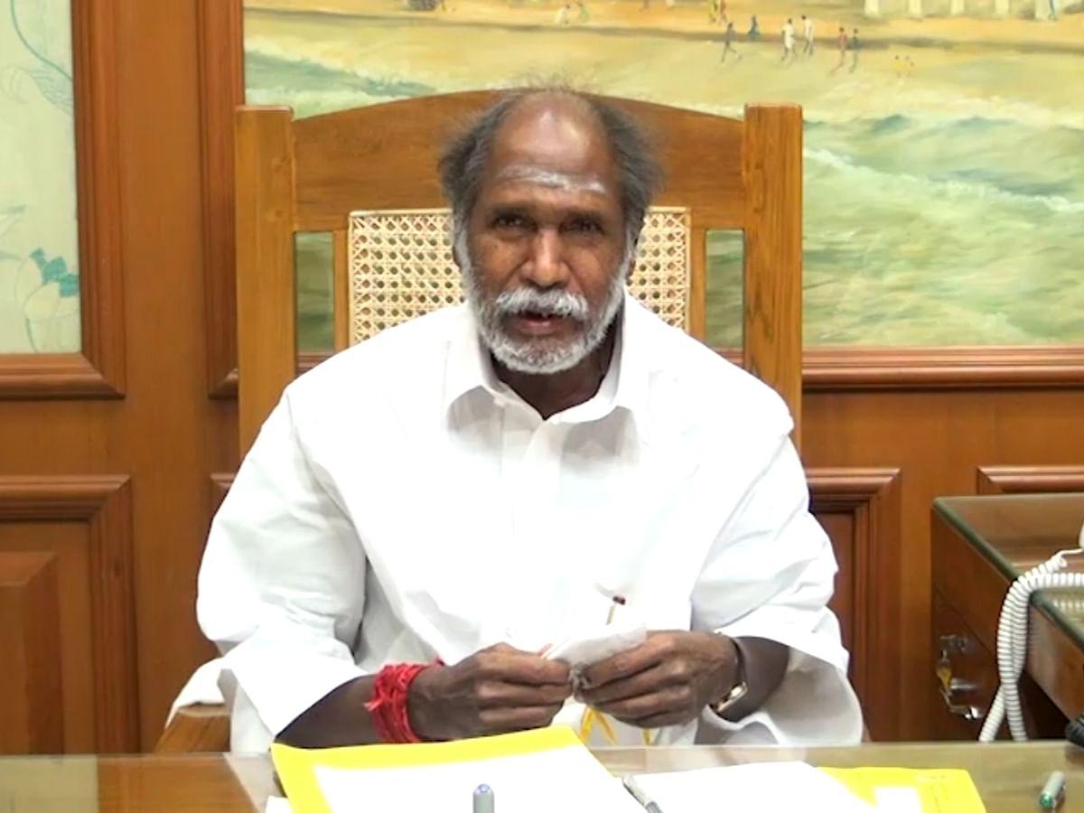 புதுச்சேரி முதல்வர் ரங்கசாமி