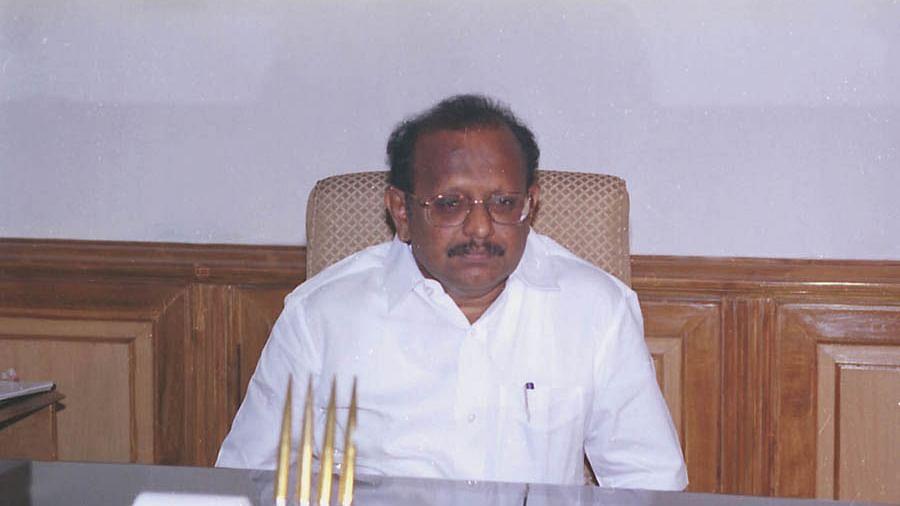 சட்டத்துறை அமைச்சர் எஸ்.ரகுபதி