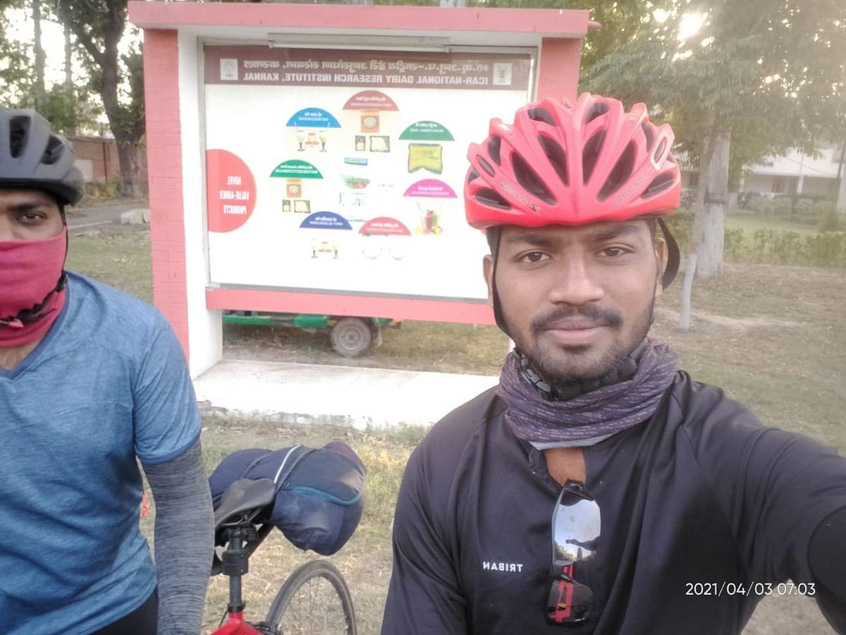 காஷ்மீர் டு கன்னியாகுமரி சைக்கிள் பயணம்