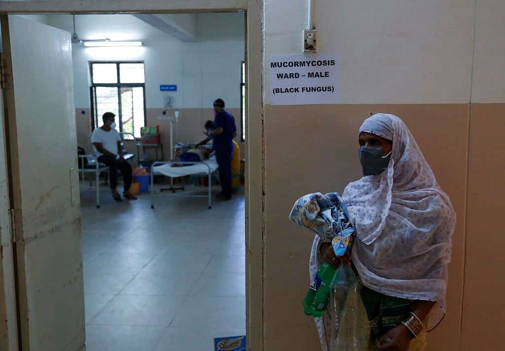 Mucormycosis ward of a government hospital in Hyderabad