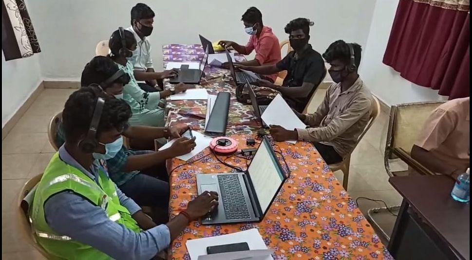 ஸ்ரீபெரும்புதூர் கொரோனா வார் ரூம்