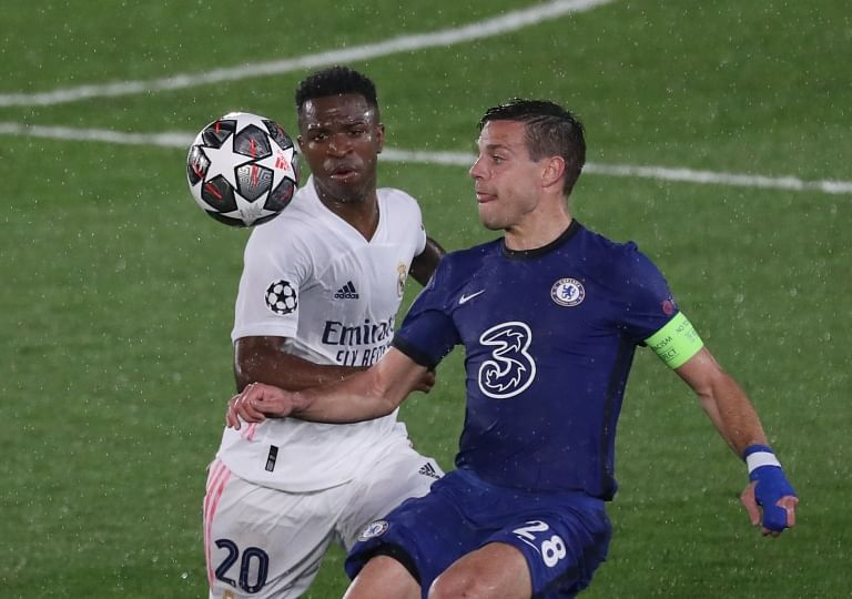 Vinicius couldn't cope up with the Chelsea skipper