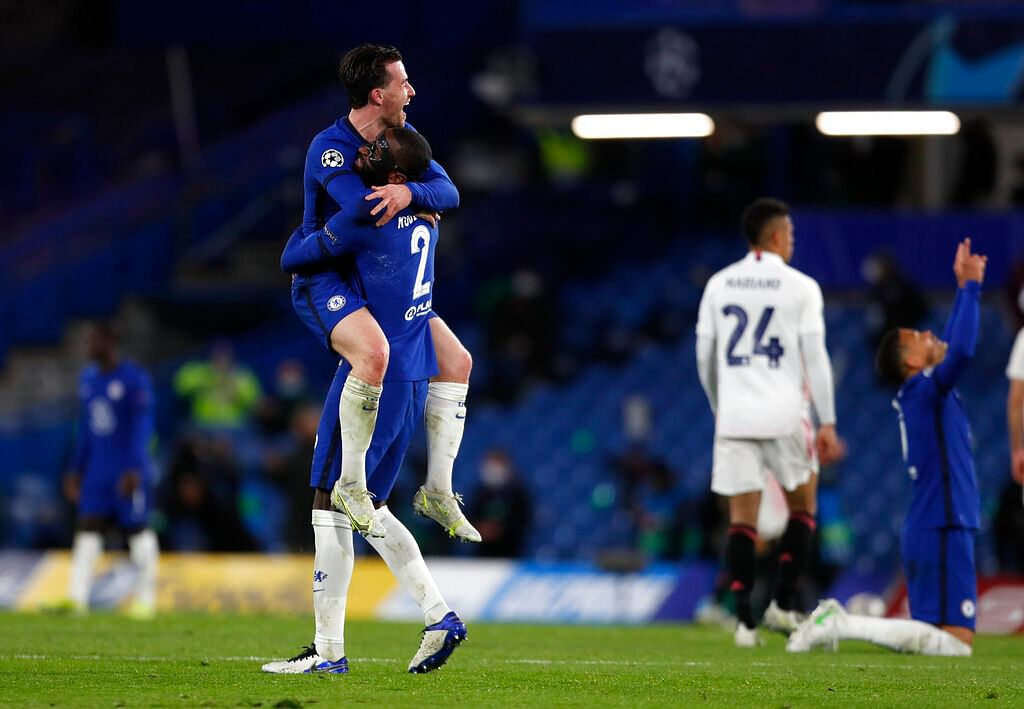 Chelsea into their third UCL final!