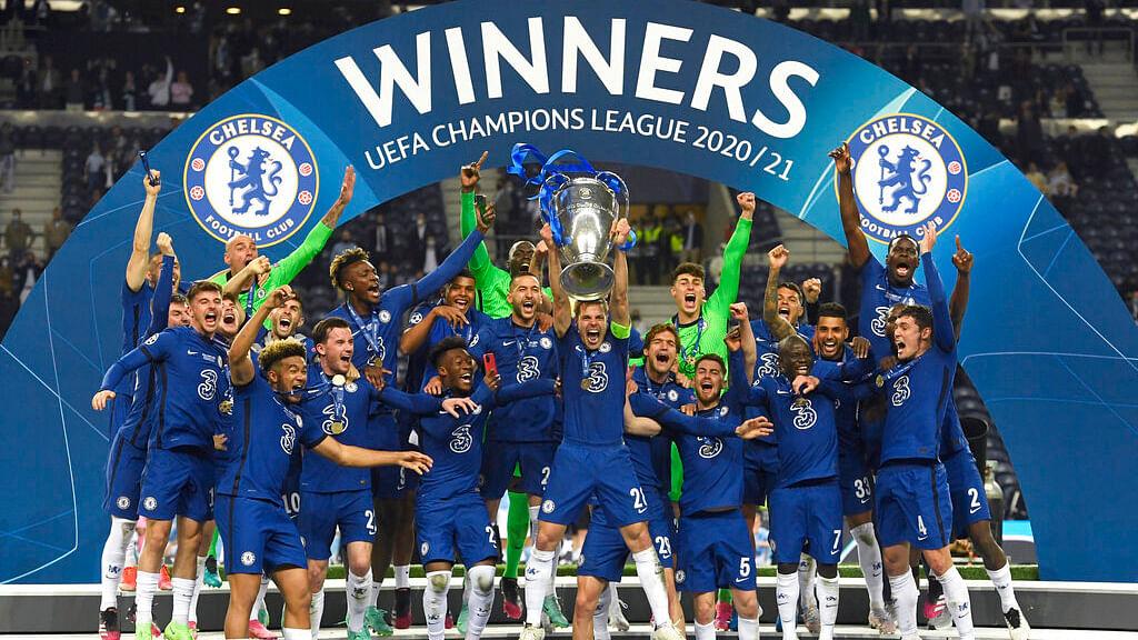Chelsea UCL winners