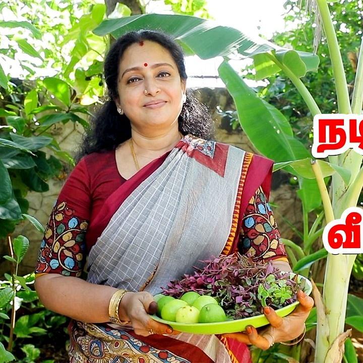 Actress Seetha Home Garden