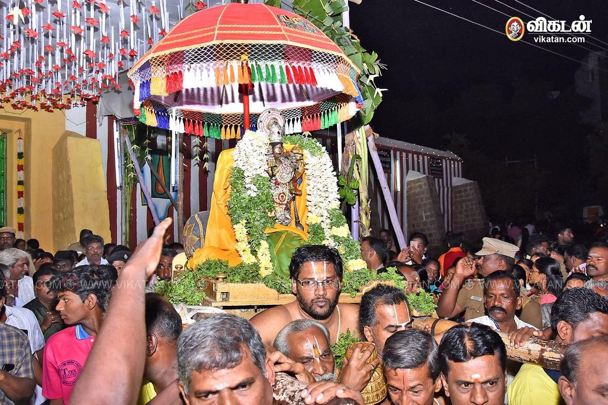 தல்லாகுளம் வைகுண்ட ஏகாதசி உற்சவம்