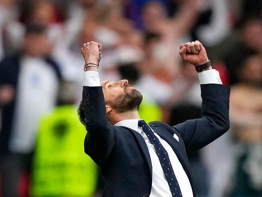 EURO 2020: ஜெர்மனியை வெளியேற்றிய இங்கிலாந்து... 25 ஆண்டுகாலப் பகையைத் தீர்த்த  செளத்கேட்!