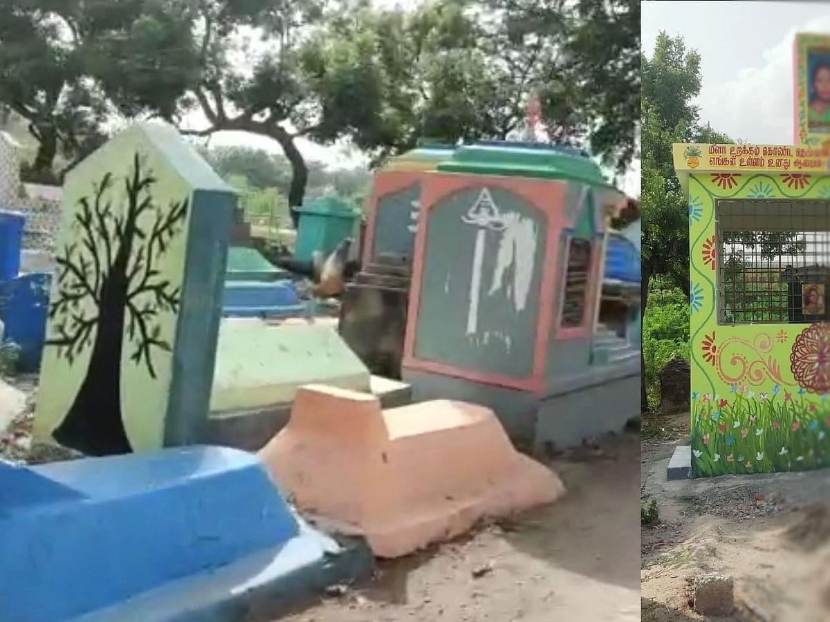 விதிகளை மீறி கட்டப்பட்ட கல்லறை: நடவடிக்கை எடுக்குமா சென்னை மாநகராட்சி?