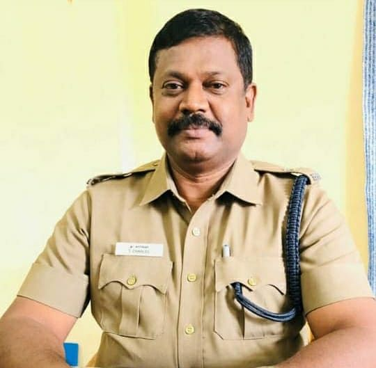 கூடுதல் எஸ்.பி சார்லஸ்