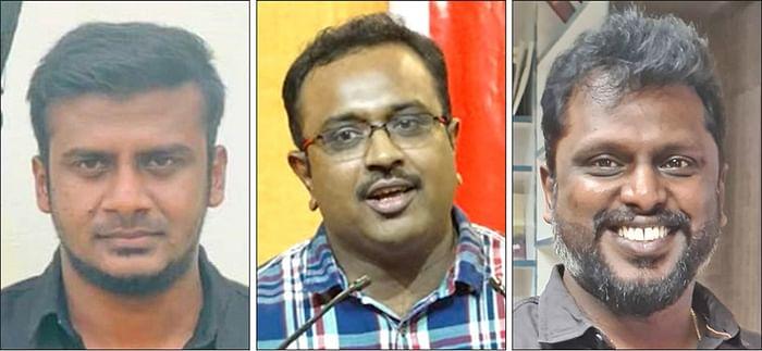 மனோஜ், ரவிசங்கர் அய்யாக்கண்ணு, பாக்கியராஜன்