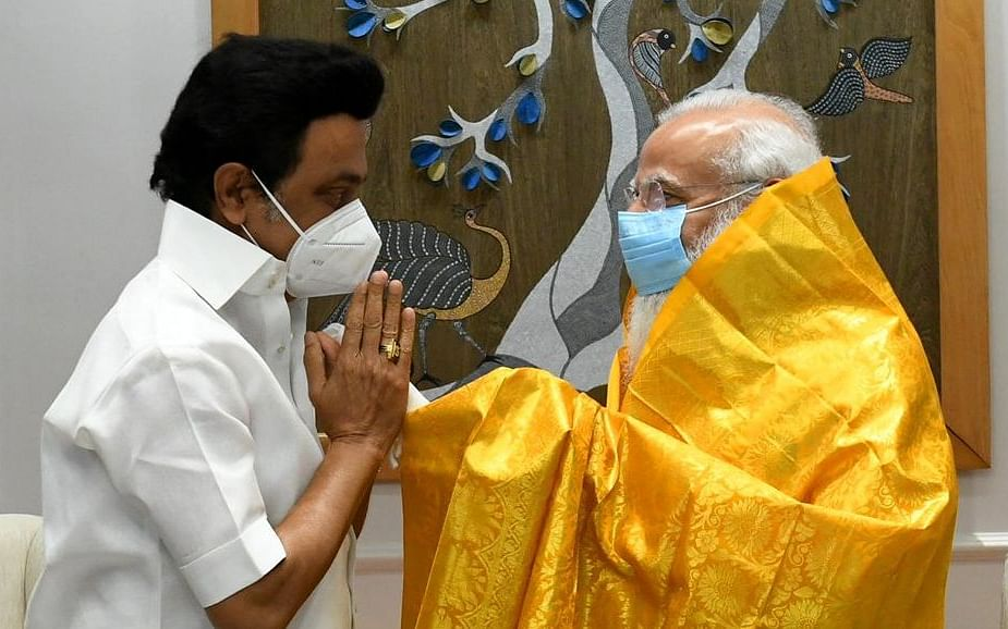 பிரதமர் நரேந்திர மோடியுடன் தமிழக முதல்வர் மு.க.ஸ்டாலின் சந்திப்பு நிறைவடைந்தது. #NowAtVikatan