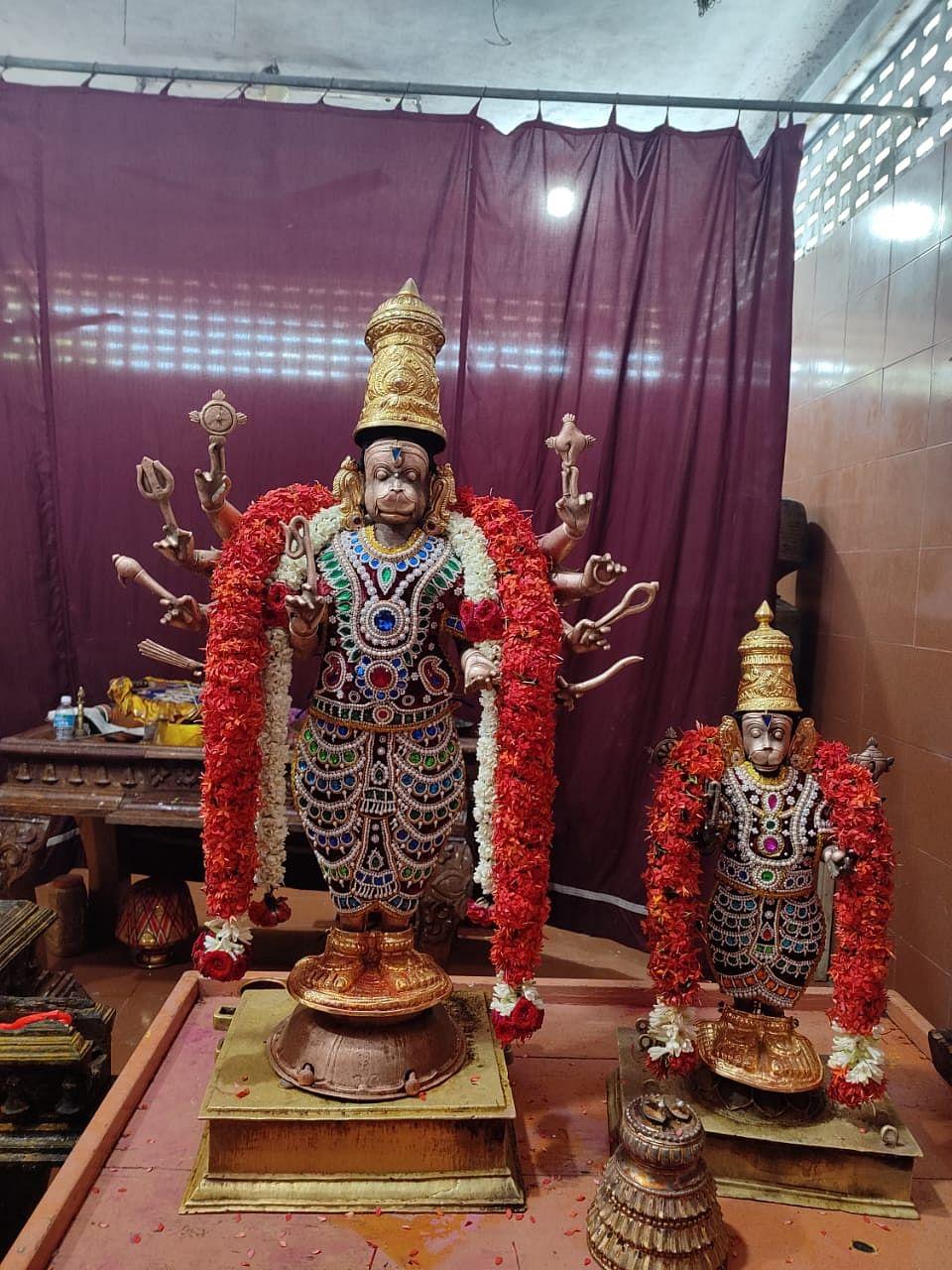 ஸ்ரீ தஜபுஜ ஆஞ்சநேயர்