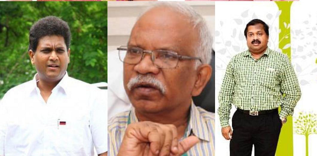 டி.ஆர்.பி.ராஜா, ஜோ.அமலோற்பவநாதன்,கு.சிவராமன்