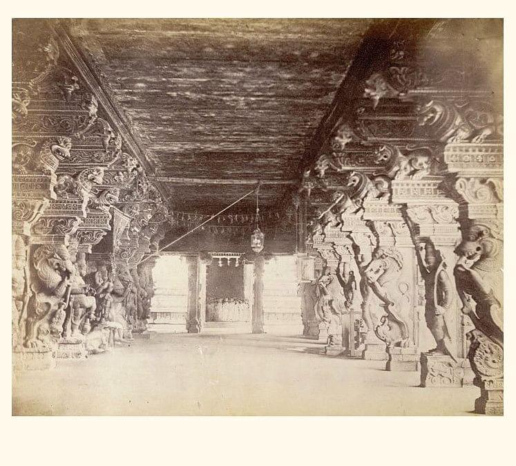 மீனாட்சி அம்மன் கோயில் - எட்மண்ட் டேவி லயன் 1868
