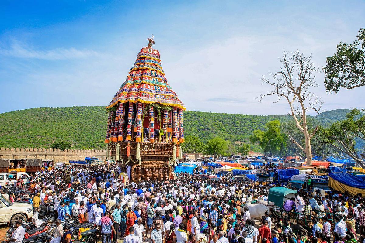 அழகர் கோவில் தேர் திருவிழா