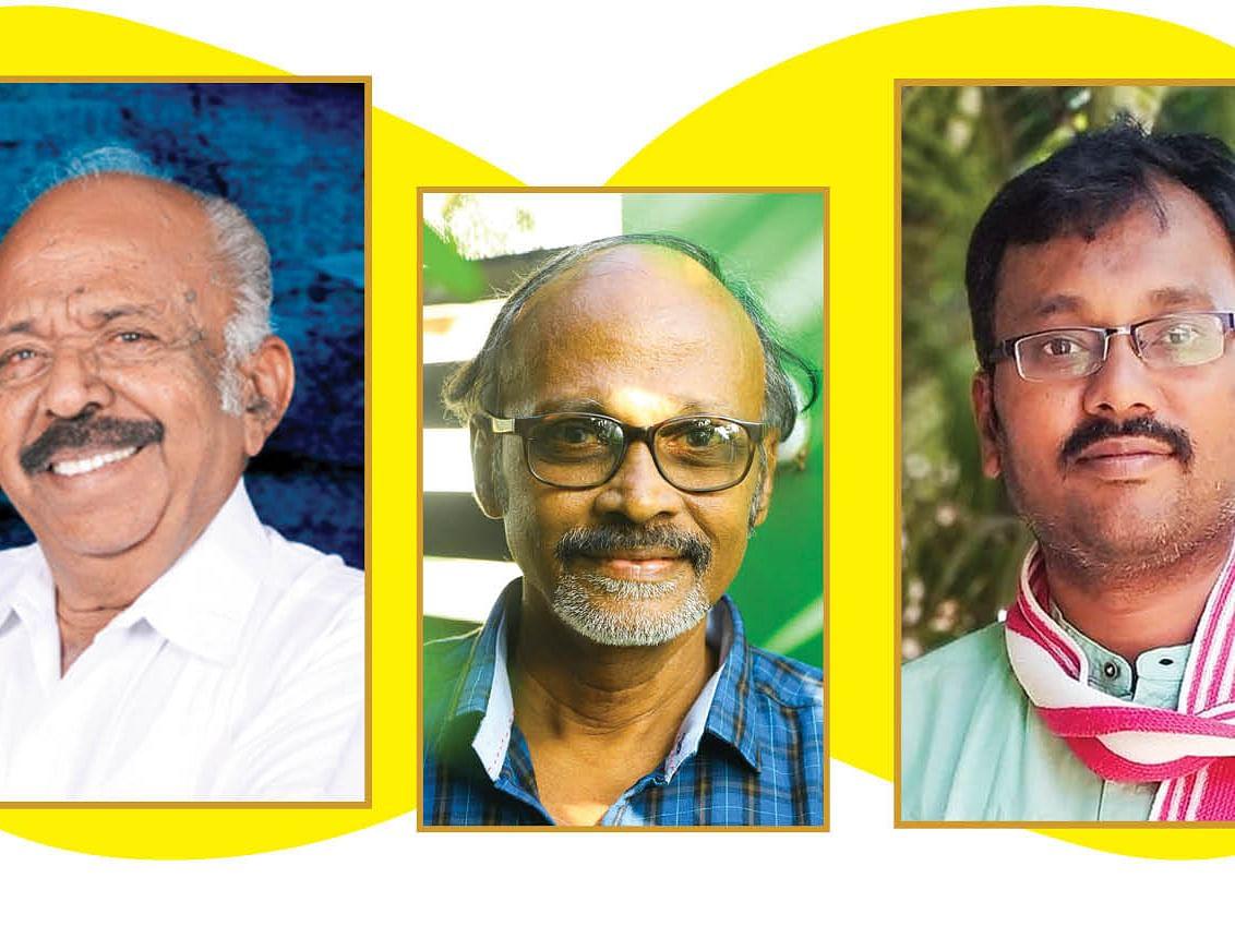 மா.கமலவேலன், உதயசங்கர், விழியன்
