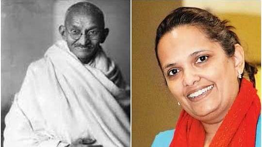 மகாத்மா காந்தியின் கொள்ளுப் பேத்தி லதா ராம்கோபின்