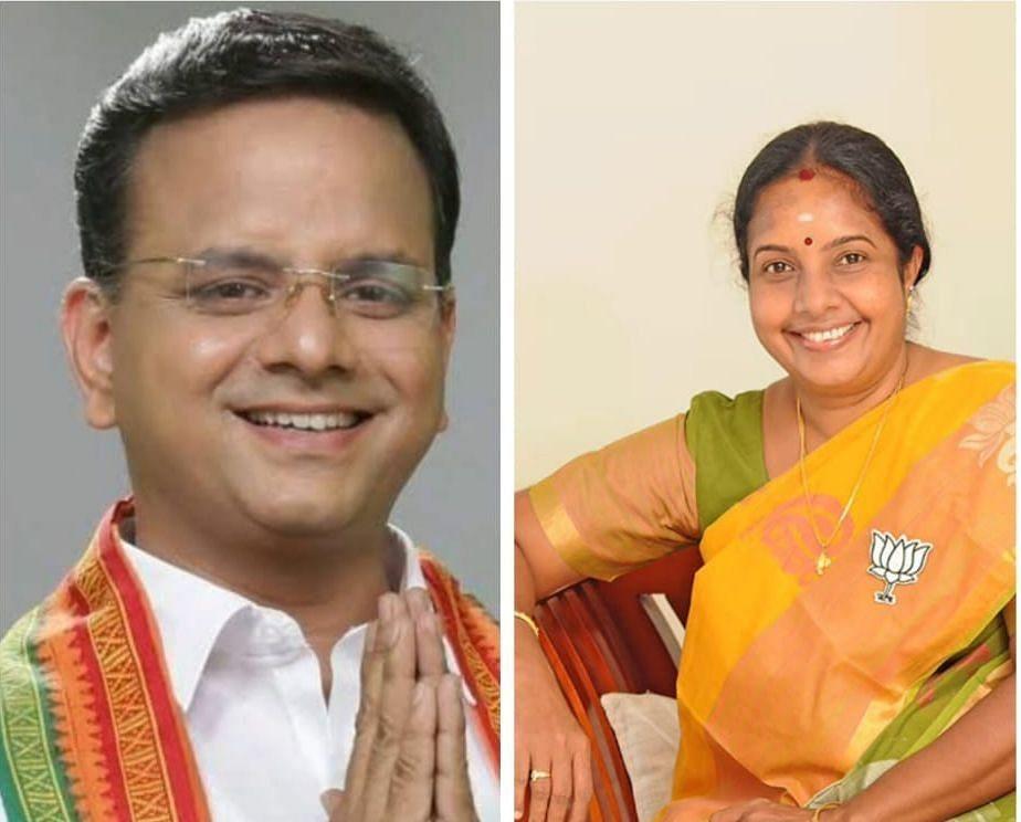 கே.டி.ராகவன் - வானதி சீனிவாசன்