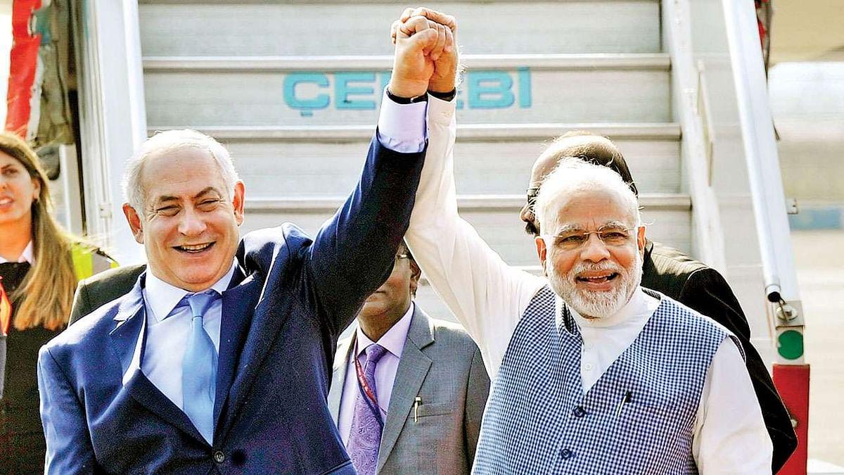 Benjamin Netanyahu - Narendra Modi