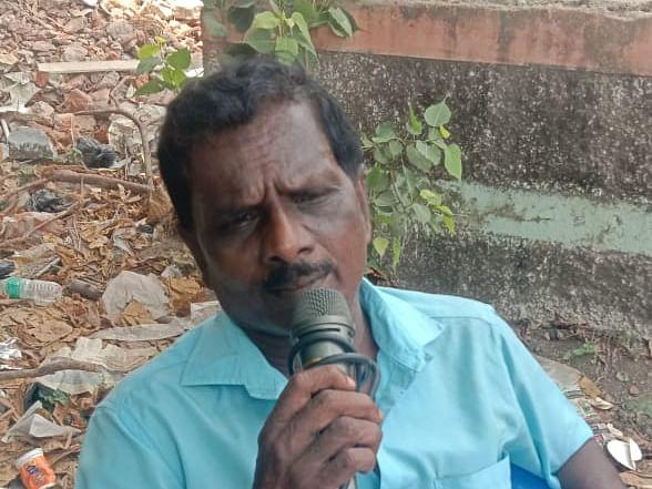 காற்றில் கலந்தது சென்னையின் கால்பந்து குரல்... கொரோனாவால் இறந்தார் மைக் மனோ!