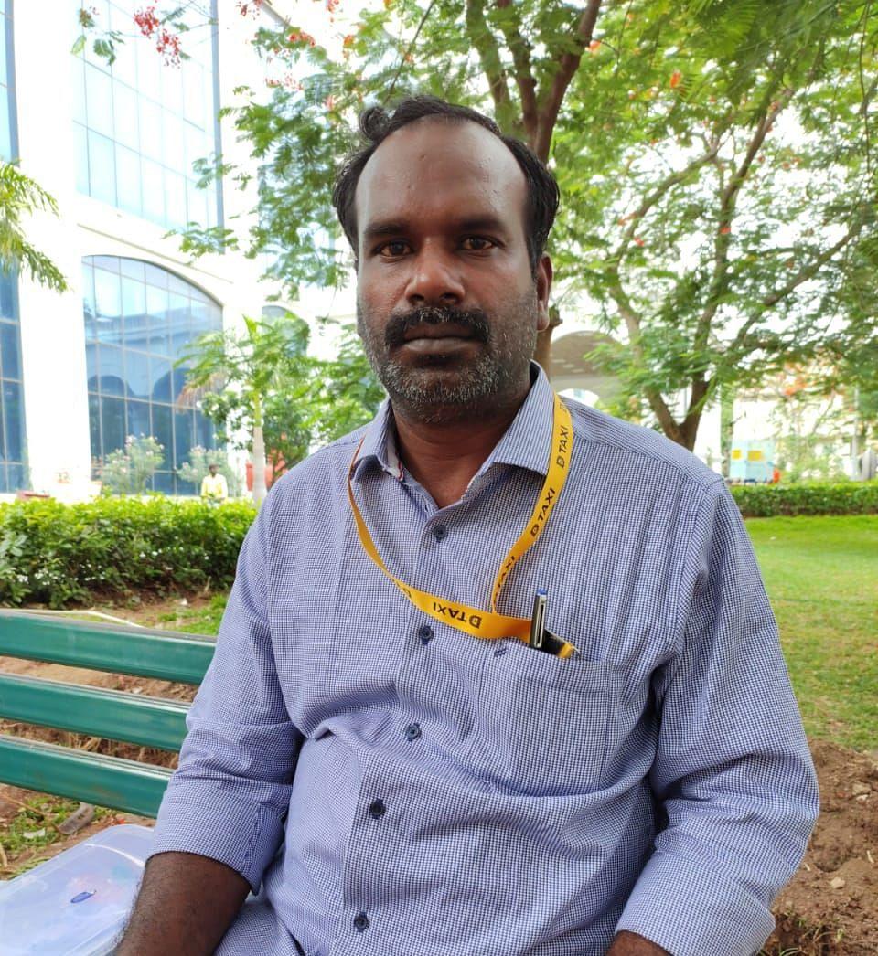 ஜி.பாலாஜி டி டாக்ஸி சங்கத் தலைவர்