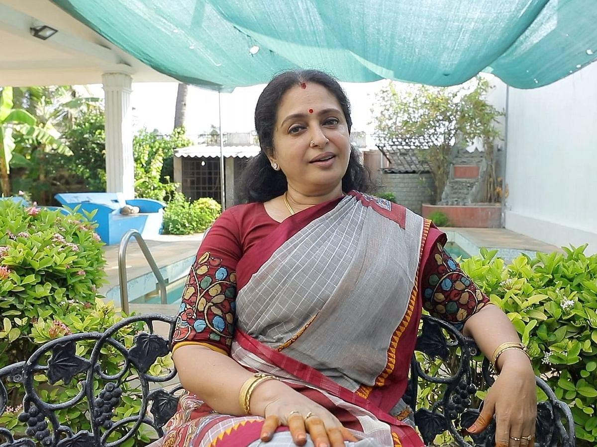 நடிகை சீதாவின் புதிய வீட்டுத்தோட்டம் | Actress Seetha Home Garden