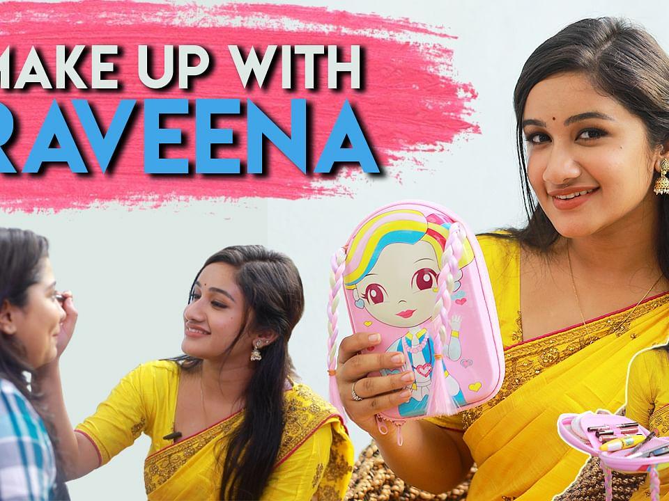 Raveena makeup bag