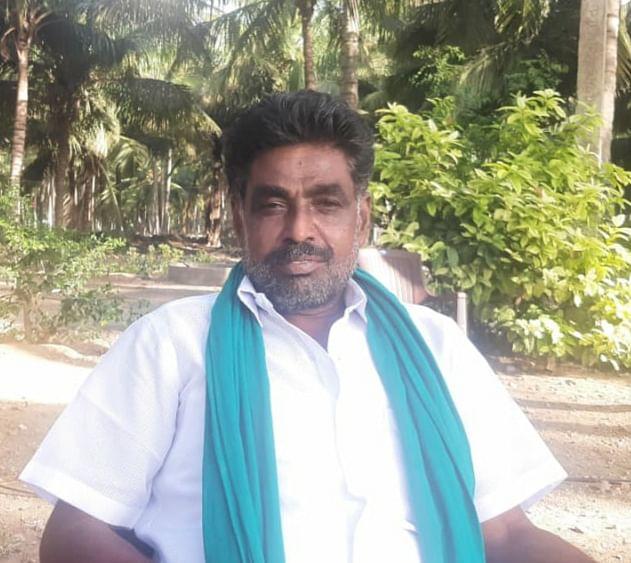 உயிரிழந்த விவசாயி கனகராஜின் சகோதரர் சண்முகம்