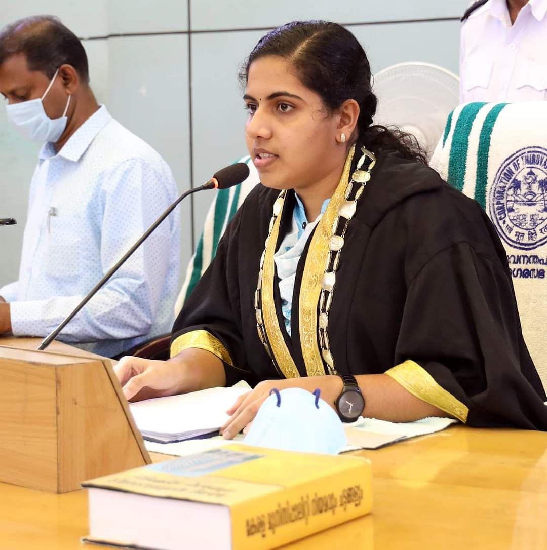 மேயர் ஆர்யா ராஜேந்திரன்