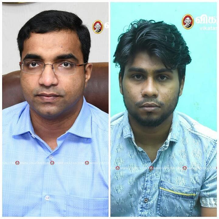 செந்தில்ராஜ்- மாவட்ட ஆட்சியர், பிரின்ஸ்டன்