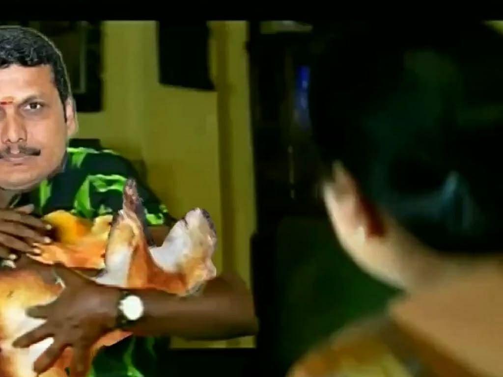 """""""உங்க வீட்டு ஒயர்ல அணில் படுத்திருக்கு!""""- அமைச்சர் செந்தில் பாலாஜியும், பவர்கட் பஞ்சாயத்தும்! #Memes"""