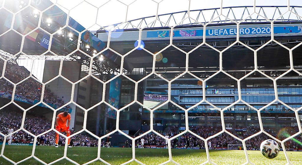 Unai Simon's mistake gave Croatia an early lead
