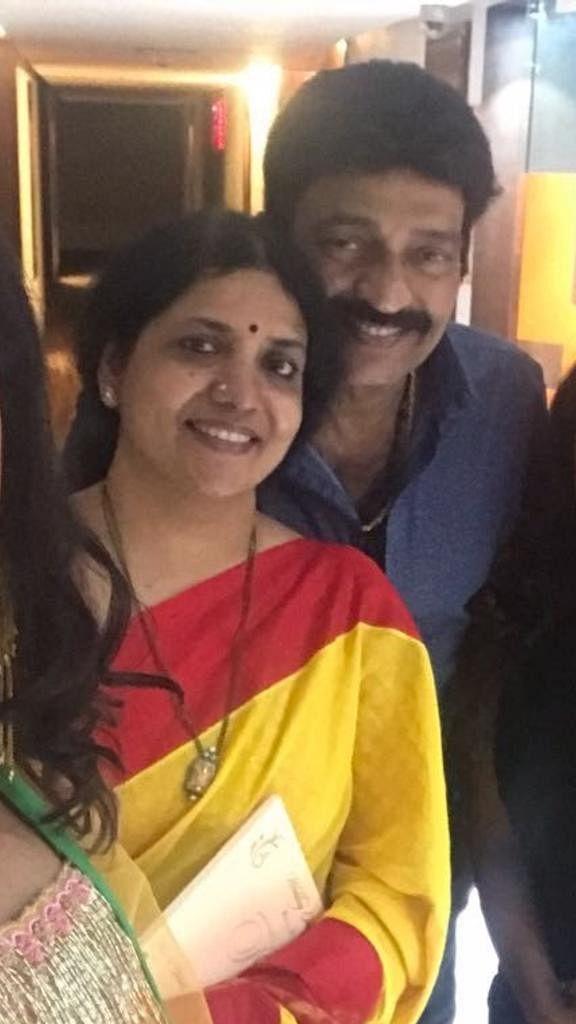 jeevitha with husband