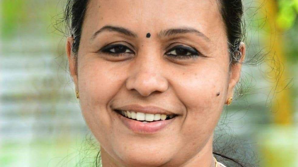 கேரள சுகாதாரத்துறை அமைசர் வீணா ஜார்ஜ்